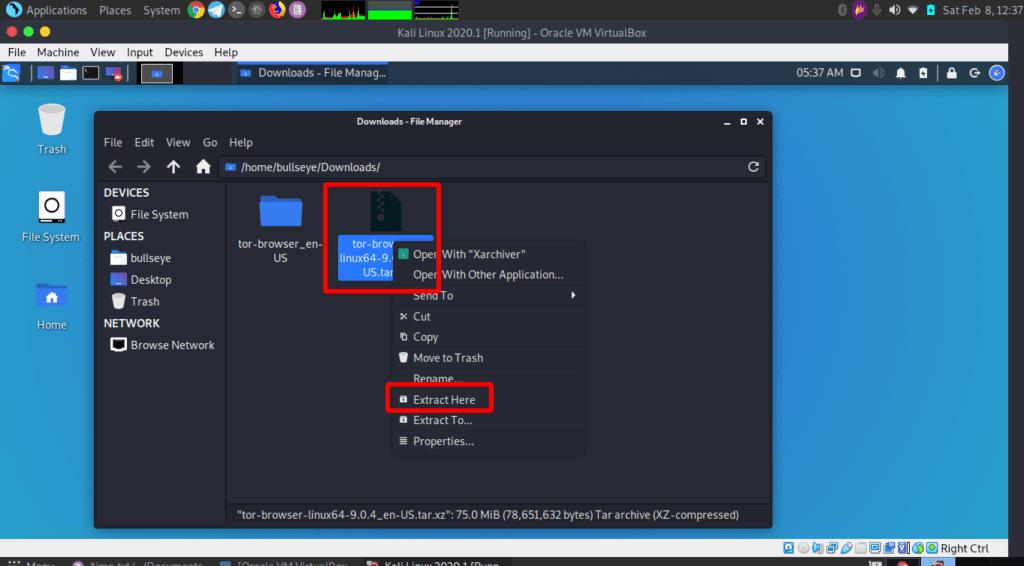 在Windows(Kali)Linux上安装Tor并搜索The Dark Web