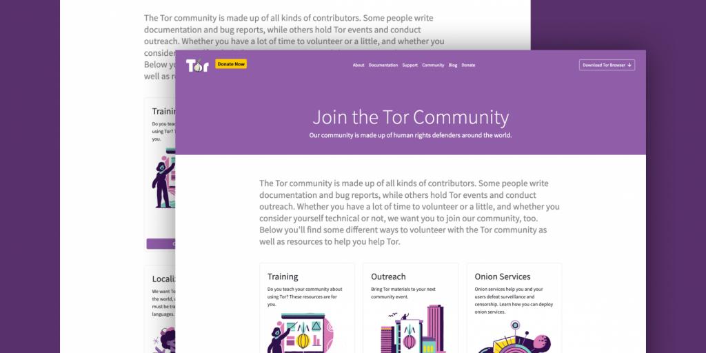 Tor官方推出新的Tor社区门户