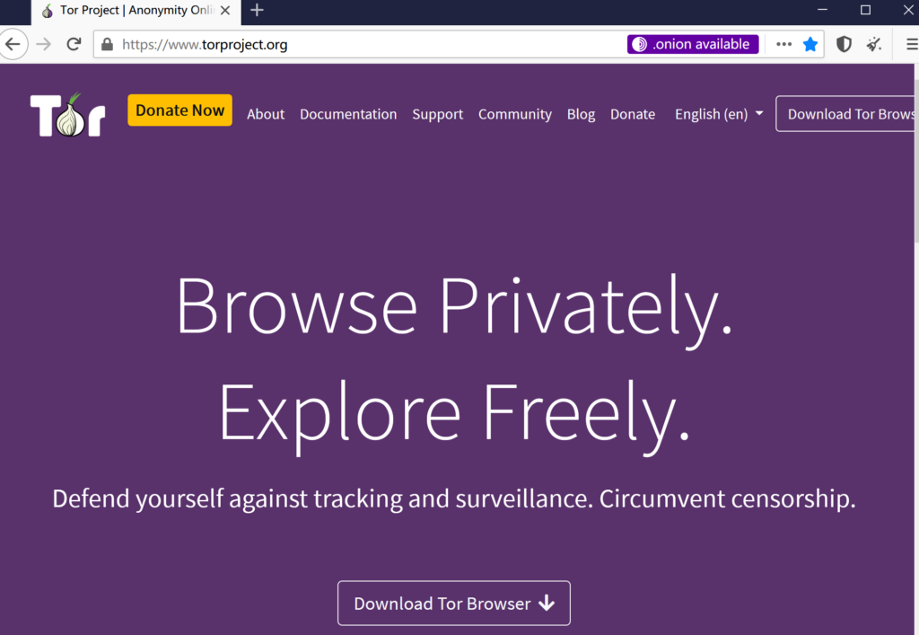 Tor的最新版本使它更容易找到安全的onion服务