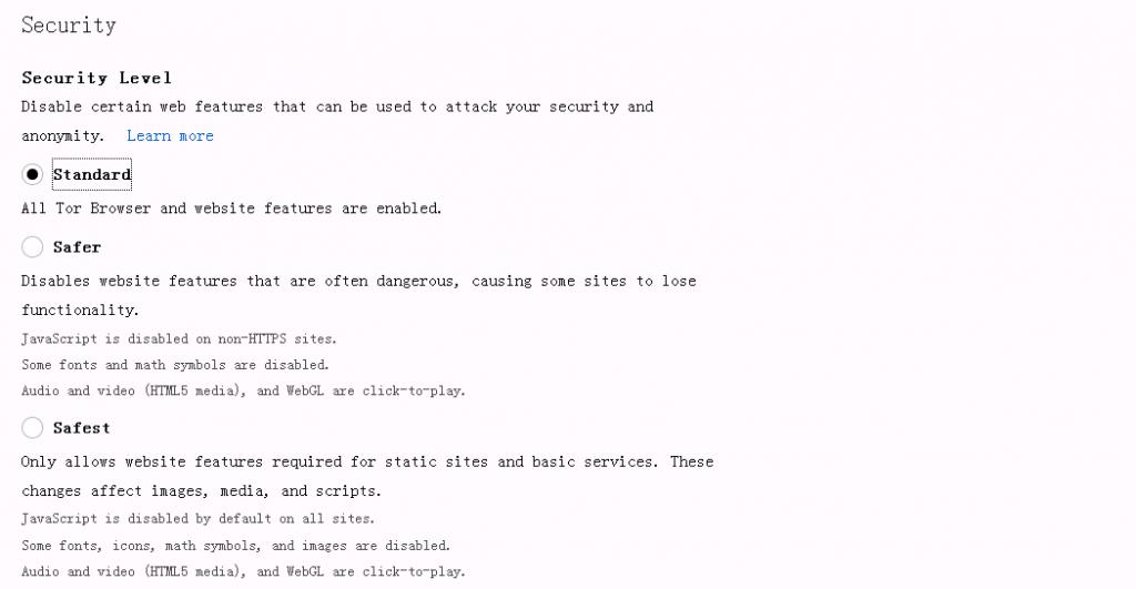 Tor浏览器如何自动禁用javascript