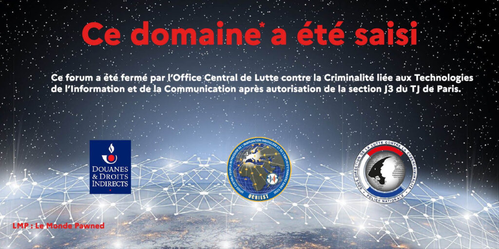 法国警方摧毁当前最大的法语暗网交易市场Le Monde Parallèle