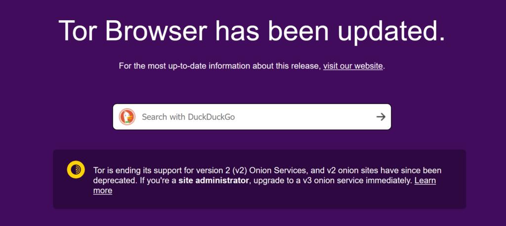 Tor浏览器发布10.0.17新版本,提示即将停止支持V2版洋葱服务