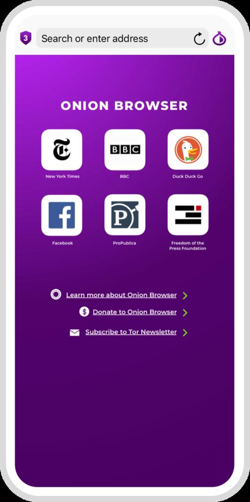 苹果手机IOS系统访问暗网,该使用什么Tor浏览器